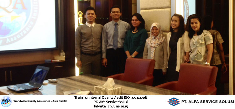 In House Training Internal Quality Audit ISO 9001:2008