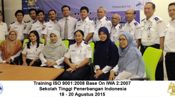 Inhouse Training Training ISO 9001 2008 STPI