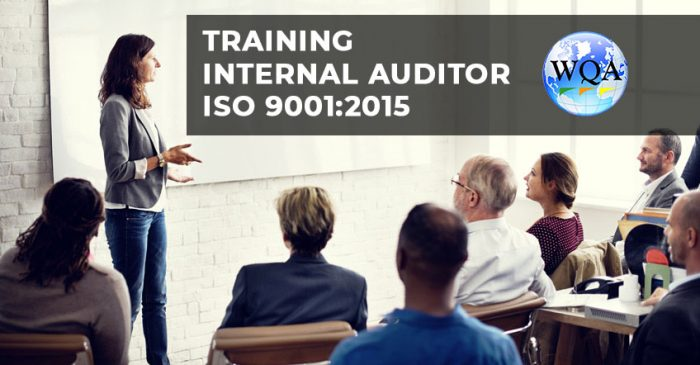 Training Internal Auditor ISO 9001